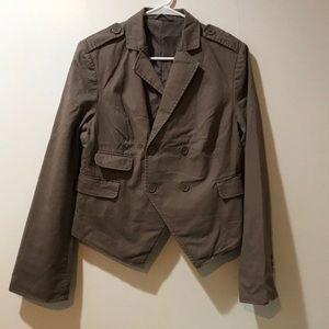 Tan/brown blazer like new!!